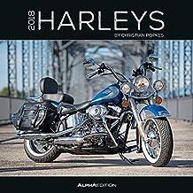 Harleys 2018 - Broschürenkalender (30 x 60 geöffnet) - Motorradkalender - Fahrzeuge - Wandplaner