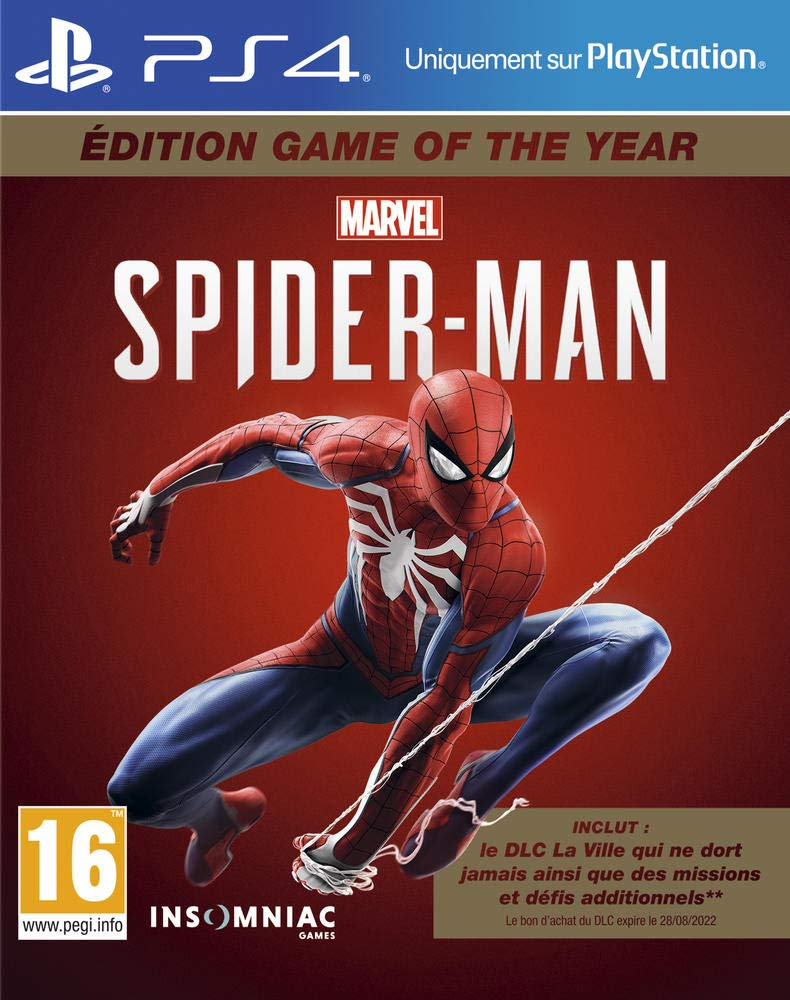 Marvel's Spider-Man pour PS4 – Edition Game Of The Year (GOTY)