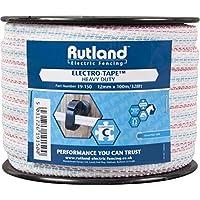 Rutland 19-150R Cinta Polytape para Vallado Electrificado Blanco