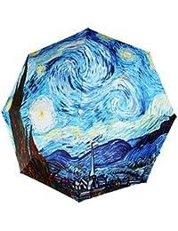 Noche estrellada de Van Gogh de pintura al óleo Original MyLifeUNIT automática plegable paraguas compacto