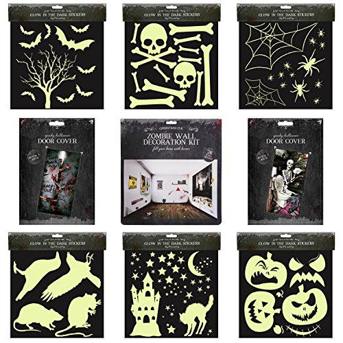 Halloween Party Indoor House Decoration Pack