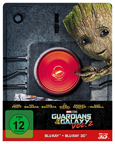 Guardians of the Galaxy Vol. 2 - 2D & 3D Steelbook Edition ltd. - (Blu-ray)