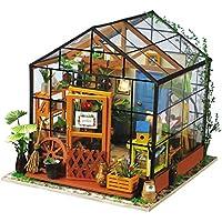 DIY Casa Muñecas Miniatura Invernadero Puzzle
