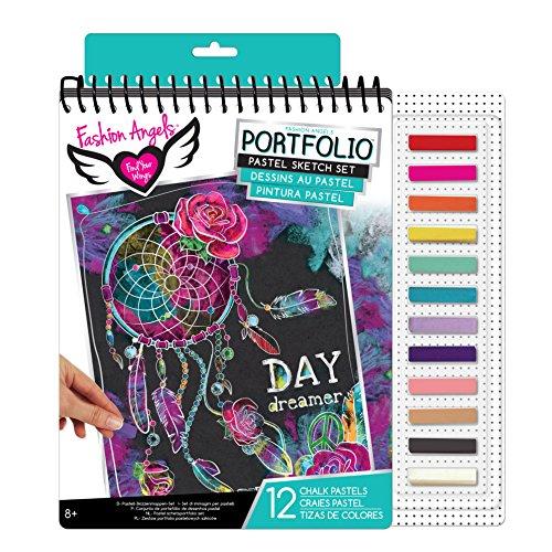 Pastell Schatten (Fashion Angels 30.11923Pastell-Sketch Portfolio-Set)