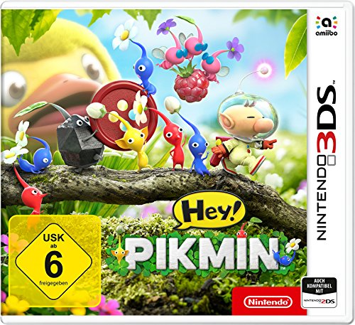 Hey! Pikmin - [Nintendo 3DS]