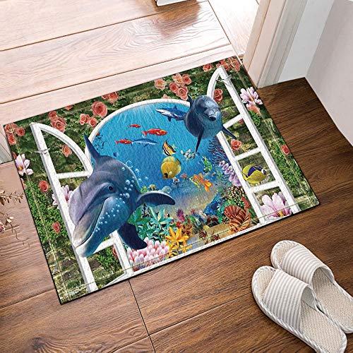 ZHWL6688 Abstrakte Dekor-Ananas in der Sonnenbrille über Schwarzweiss-Kunst BackgroundBath Teppiche Tür Badezimmertür Printing Küche Badezimmer-Mattenzubehör