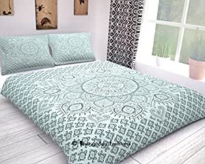 reine hippie mandala indien fait main ethnique couverture gaveno cavailia parure de lit avec. Black Bedroom Furniture Sets. Home Design Ideas