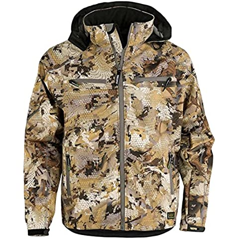 SWED Team Jacket Waterfowl in pile, Mimetico - Waterfowl Caccia