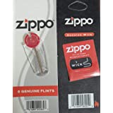 Zippo Accessory Flint and Wick Blister Set ZP 2406n and 2425