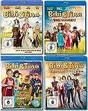 Bibi & Tina Kinofilme 1-4 (1, 2-voll verhext, 3-Mädchen gegen Jungs, 4-Tohuwabohu im Set - Deutsche Originalware [4 Blu-rays]