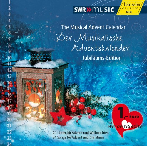 CD musikalischer Adventskalender in Jubiläums-Edition