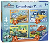 Ravensburger 7022 Octonauts Vehicles 4 in Box Jigsaw Puzzles - 12, 16, 20 and 24 Pieces