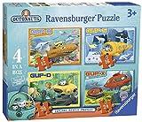 Ravensburger- Puzzle 4 en una Caja, Octonautas (7022)