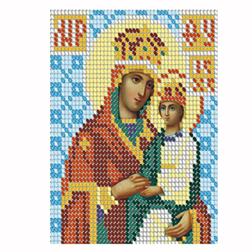 t Malerei Diamant Malen nach Zahlen Kits Religiöse 30 x 40 cm ()