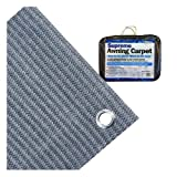 Streetwize LWBG2560 Supreme Awning Carpet - Blue/ Grey