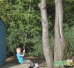 Wooden Monkey Tree Swing - Garden Mon...