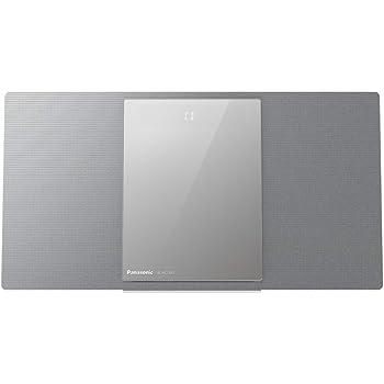 Panasonic SC-HC1020EG-S Sistema Micro All-in-One, CD, DAB+, USB, Wi-Fi, Bluetooth, Multi-Room, Design Compatto, Silver