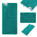 COZY HUT Luxury Bling Glitter Sparkle Case for Huawei P8 Lite Shockproof Case Shining Shock Absorption TPU Bumper Protective Phone Case Cover for Huawei P8 Lite - green 5