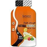 Naturyz Double Strength Natural Vitamin C & Zinc Supplement with Amla, Acerola Cherry, Citrus Bioflavonoids rich in…