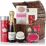 Virginia Hayward Prosecco Tea and Bubbles Gift Hamper