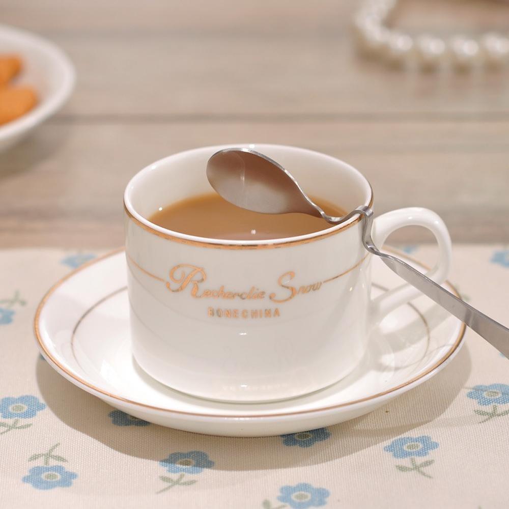 KHSKX Porzellan Porzellan kontinentalen Geschäft Kaffee Tasse Set ...