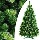 DecoKing 150 cm Künstlicher Weihnachtsbaum Tannenbaum Christbaum Tanne Daria Weihnachtsdeko