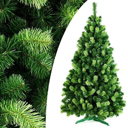DecoKing Künstlicher Weihnachtsbaum Tannenbaum Christbaum Tanne Daria Weihnachtsdeko