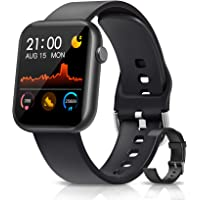 NAIXUES Connected Watch, Smartwatch Women Men with Full Touch Screen, Watch ...