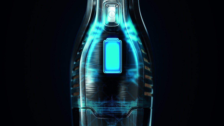 AEG ECO Ergorapido CX7-21EB kabelloser 2in1 Handstaubsauger (21 Minuten Laufzeit, Lithium-Power-Akku, patentierte…