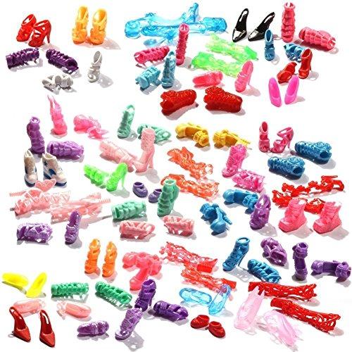 asiv-60-pares-de-zapatos-atractivos-alto-tacon-para-barbies-munecas-estilo-al-azar-