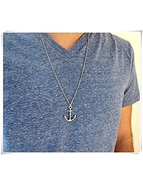 Herren Halskette–Männer Anchor Halskette
