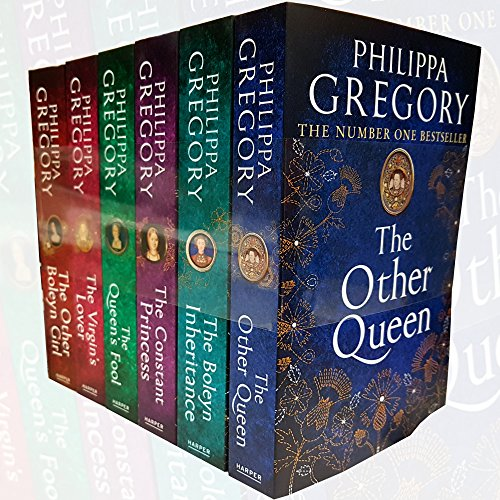 Tudor Court Series – 6 books – The Boleyn Inheritance / The Other Boleyn Girl / The Other Queen / The Constant Princess / The Virgins Lover / The Queens Fool