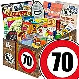 24x Allerlei | Geschenk Idee | Geburtstag 70 | Ostalgie Set Papa