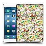 Offizielle Micklyn Le Feuvre Meerschweinchen Und Gänseblümchen Und Aquarell Muster 2 Ruckseite Hülle für iPad Air (2013)