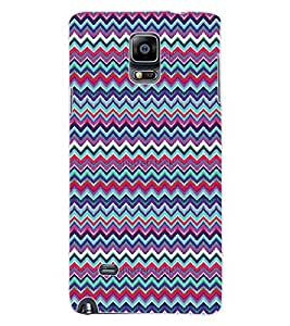 ColourCraft Tribal Pattern Design Back Case Cover for SAMSUNG GALAXY NOTE 4