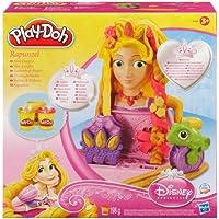 Play-Doh - Princesa Rapunzel: diseños de cabellos (Hasbro A1056E24)