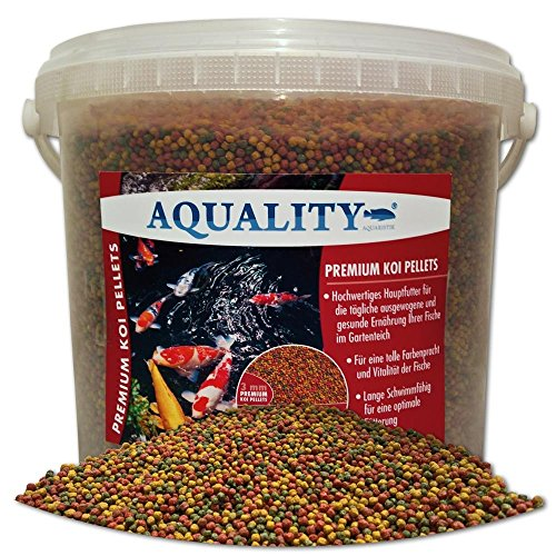 Aquality Premium Koi Pellets 3 mm – 5000 ml