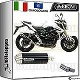 Arrow Kit Auspuff Hom Racetech Aluminium Dark Suzuki GSR 75020151520161671776Aon + 71442Ich