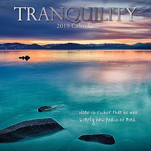 Tranquility 2019 Calendar