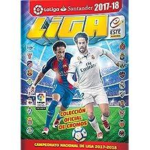Lote 1ª edición LIGA ESTE 2017 18 son 390 stickers + Album