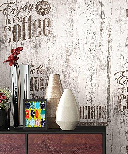 #NEWROOM Landhaus Tapete Braun Papiertapete Grau Papier moderne Design Optik Holztapete Holzwand Naturholz Holzpaneele inkl. Tapezier RatgeberNEWROOM Land#