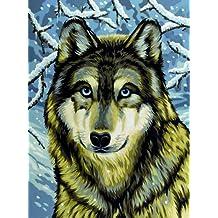 Malen Nach Zahlen Wolf Suchergebnis Auf Amazonde Für