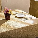 Table à manger rectangulaire Tissu Tissu en tissu Tissu en tissu simple en vrac Table à manger Tissu pour maison Hôtel Café Restaurant , 2 , 1.3*1.7m