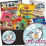 Für Dich (mit Einhorn) | Schokoladen Set | Schokoladenkorb