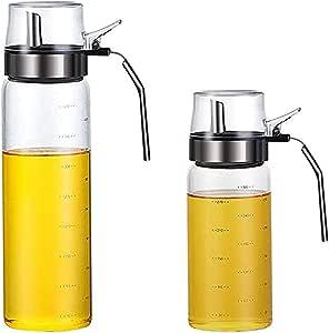 Öl Öl zum Selbermachen mit Rezeptideen 500 ml und Essigspender aus Glas