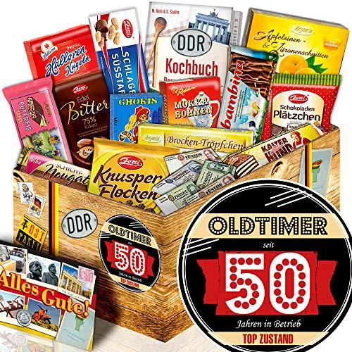 Oldtimer 50   Schokolade Box DDR   Geschenkpaket Mann
