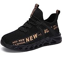 Thlppe Formatori Ragazzi Running Shoes Bambini Ttraspirante Leggero Scarpe Basket Casual al Coperto Sneakers Unisex 26…