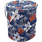 Souxe Popup Polycotton Laundry Bag -(Standard Size, Colour May Vary)
