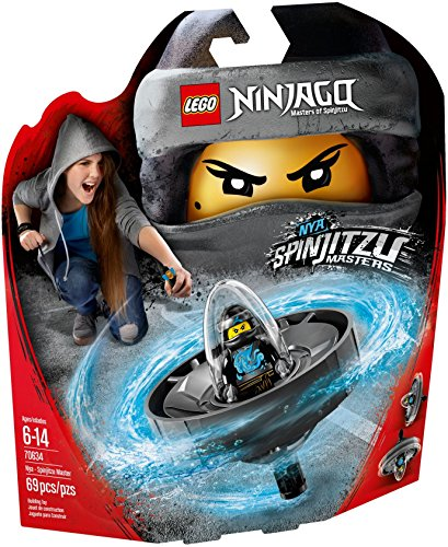 Lego Ninjago (IT- NYA-Maestro di Spinjitzu, Multicolore, 70634