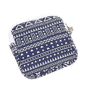 Ularma Women Girl Cute Portable Sanitary Napkin Bag Sanitary pad Convenient Organizer Holder Case